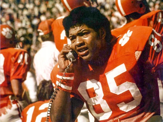 Bennie Cunningham, played at Clemson from 1972-75 and