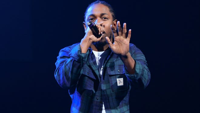 Rapper Kendrick Lamar lead the Grammy nominations with 11.