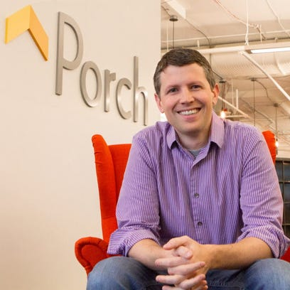 Porch CEO Matt Ehrlichman, photographed at the company's