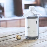 Jerad Poling, left, and Ben Brueshoff have launched BET Vodka, a sugar beet based vodka.