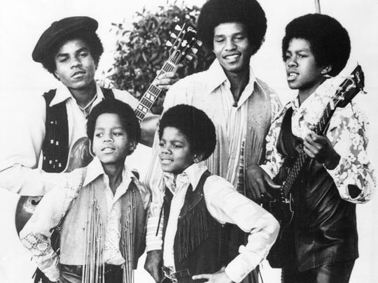 The Jackson 5 in the early 1970s.