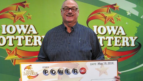 An investigation by the Iowa Lottery led to a $1-million prize for Richard Watson of Belton, Mo.