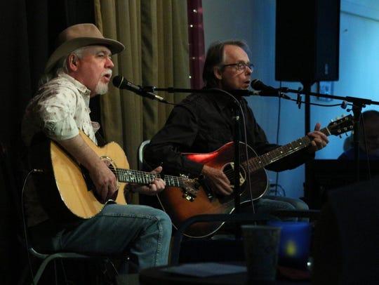 Craig Bickhardt, left, and Jack Sundrud of Idlewheel