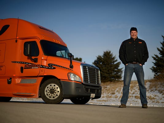 Trucking companies need drivers, support personnel