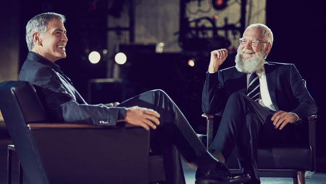 George Clooney chats all about Amal with David Letterman on 'My Next Guest Needs No Introduction.'
