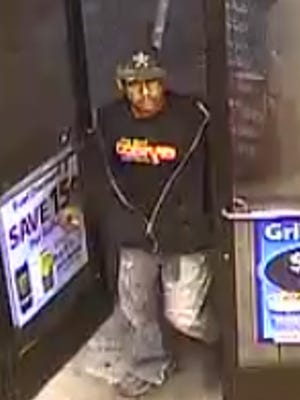 Las Cruces Police are asking for the public's help in identifying a man suspected of unauthorized use of a credit card in February.