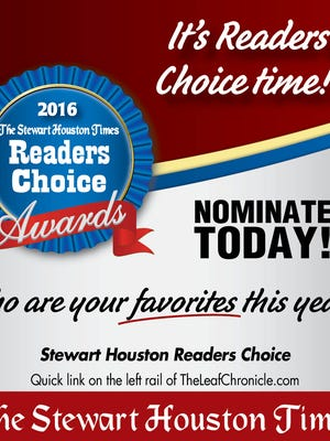 The Reader's Choice Awards.