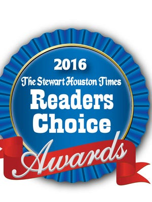 2016 Stewart Houston Times Readers Choice Awards.