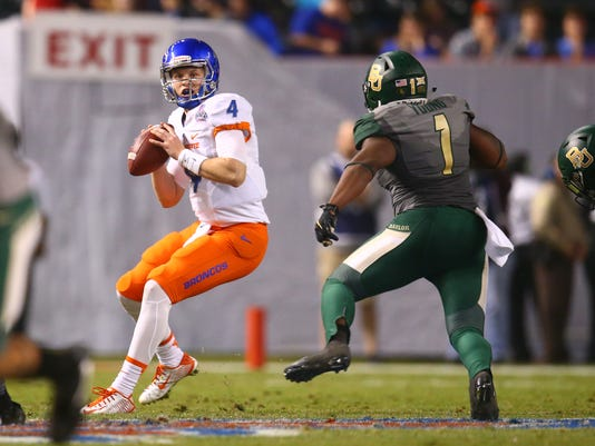 NCAA Football: Cactus Bowl-Boise State vs Baylor