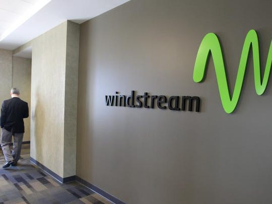 File photo: Windstream Corp.'s Midtown office building in downtown Rochester.