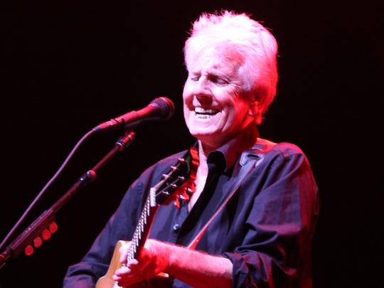 Graham Nash  performs at the MAC at Monmouth University.  Sunday July, 6, 2014, West Long Branch.  Photo by Robert Ward