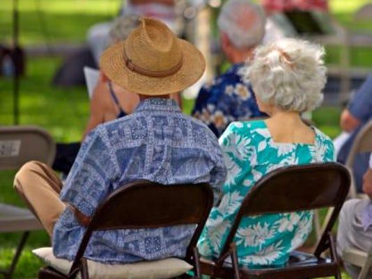 Concert in park