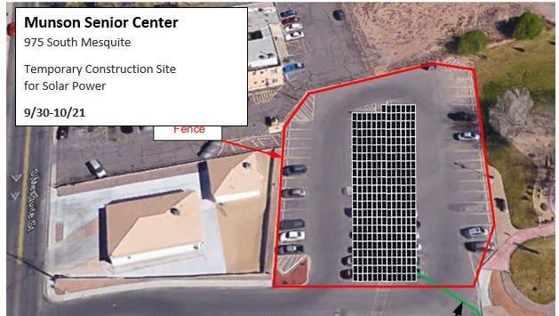 Solar panels planned for Munson Center.