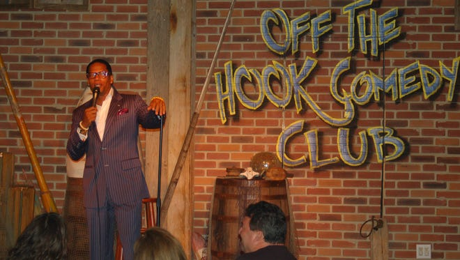 FILE: Comedian D.L. Hughley during his performance at the Off the Hook Comedy Club on Marco Island.
