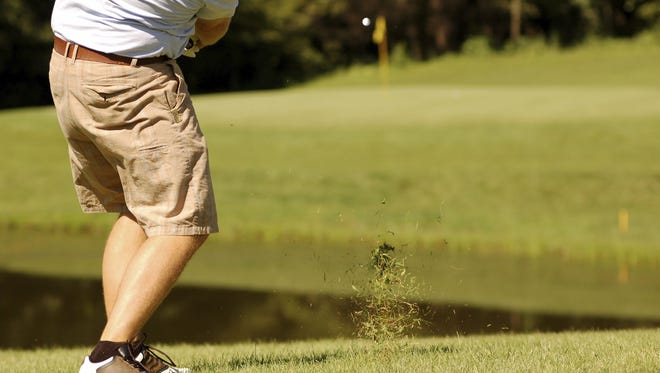 Golfing in shorts isn't allowed on the PGA Tour.