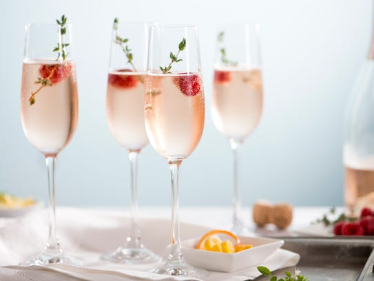 Champagne or sparkling wine can be the base for a range of cocktails.