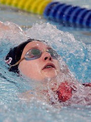 De Pere's Emily Macco broke or reset four school records in individual events this year.