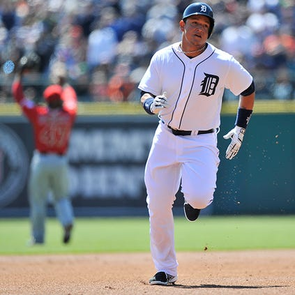Miguel Cabrera finished 2014 with 25 homers, 109 RBI and a .313 average.
