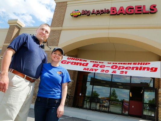 LAF Big Apple Bagels Re-opening