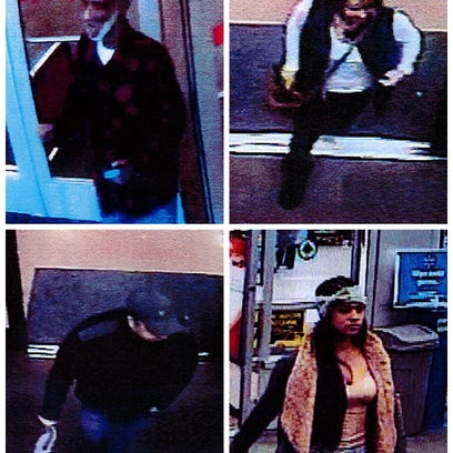 If you recognize any of these suspects, please call
