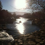 Truckee is pictured on a sunny afternoon in Jan. 2014. Reno forecasters predict warm and dry weather over the weekend.