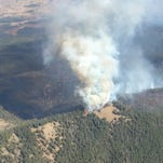 Sheep Mountain fire perimeter as of Sept. 30.
