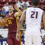 Iowa State's Georges Niang said playing against Power 5 conference teams will help the Cyclones down the road.