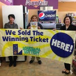 Lottery Sales Representative Amanda Capdeboscq, Food N Fun #18 Manager Jennifer Jones and store Supervisor Casey Peltier were thrilled to discover their New Iberia store sold a $1 million winning Powerball ticket for the Jan. 6 drawing.