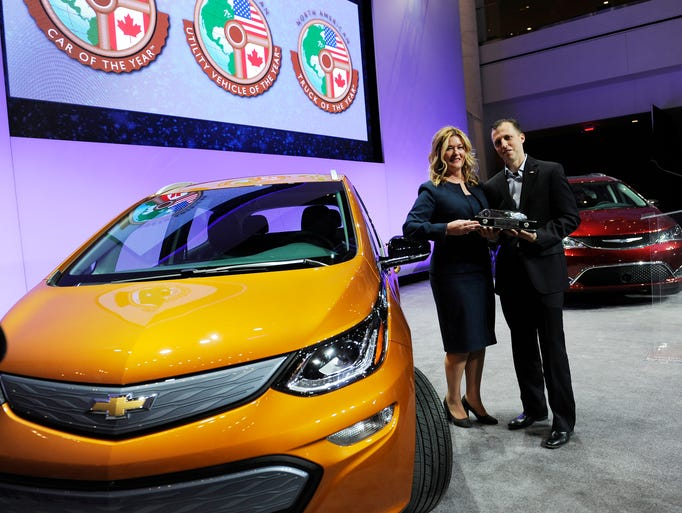 The Chevy Bolt won the North American Car of the Year