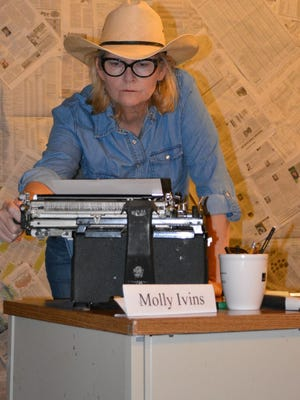 """""""Red Hot Patriot,"""" celebrates the legendary life of Molly Ivins, sharp-tongued newspaper columnist, best-selling author, political commentator, and humorist. Veteran of the stage, actress Mary Maxson, has embraced Ivins' character, polished the role and turned a diamond in the rough into a dazzling, multifaceted masterpiece."""