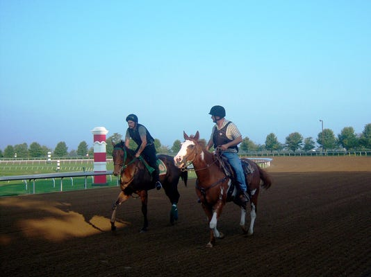 First horses on track 082414_3043.jpg