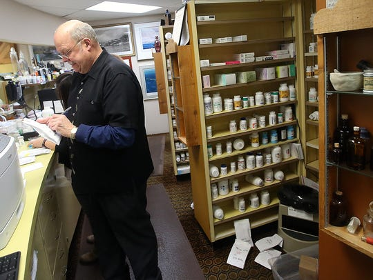 Dennis Smith has owned and operated the Apothecary Shoppe in Bremerton since 1972.
