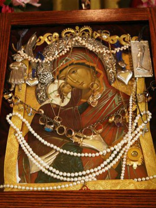 Miraculous Icon of St. Anna