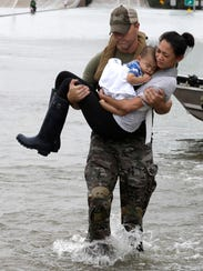 Houston SWAT officer Daryl Hudeck rescues Catherine