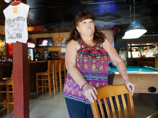 """Joyce Halcomb, owner of the Dockside Pub, is in favor of bringing a casino to Rockaway Beach. It was """"deeply disappointing"""" when Missouri voters rejected an effort to do so back in 2004, she said."""
