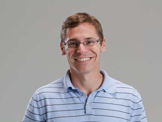 Matt Glenesk, Indianapolis Star staff mug