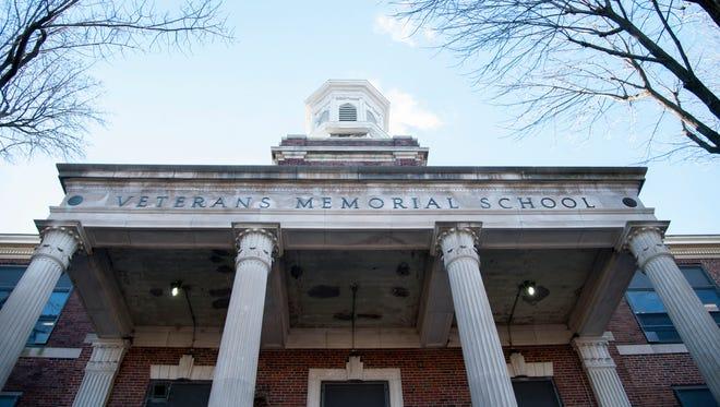 Veteran's Memorial School in Camden.