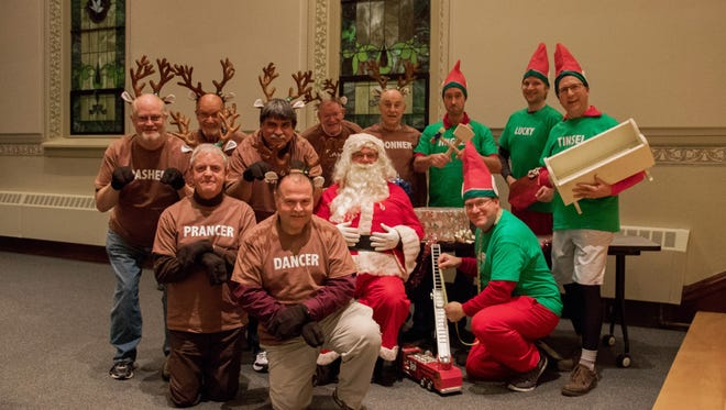 """Clipper City Chordsmen will present their annual holiday show """"Christmas Presence"""" at 7 p.m. Dec. 9at Endries Performance Hall on the campus of Silver Lake College."""