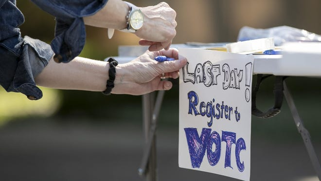 Registered to vote in Michigan? Monday is the deadline to sign up online for the Nov. 3 election.