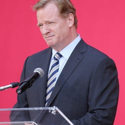 USA TODAY Sports columnist Jarrett Bell writes that NFL commissioner Roger Goodell (pictured) has five things he must do immediately.