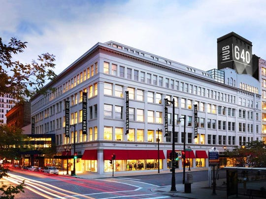HUB640, the redeveloped former Boston Store building in downtown Milwaukee, has landed its first tenant.