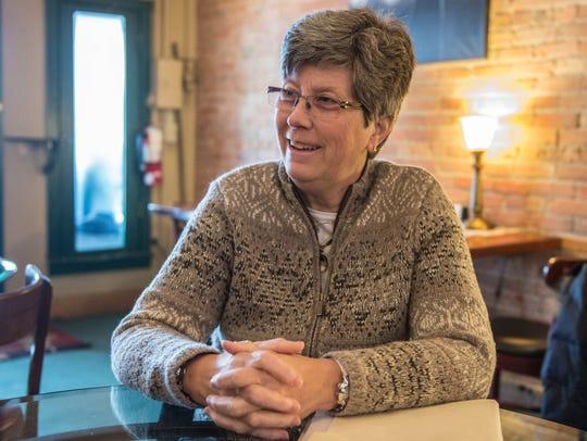 Retired Air Force Brigadier General Linda McTague in
