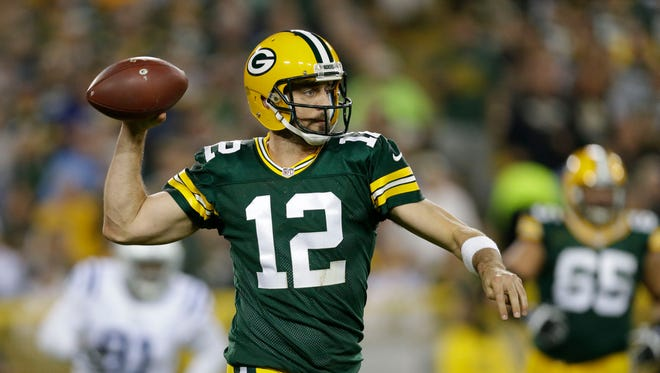Aaron Rodgers and the Green Bay Packers face the Tennessee Titans on Sunday in Nashville.