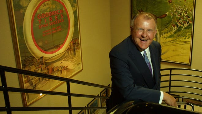 Bruce Halle, founder of Discount Tire Co., in 2003.