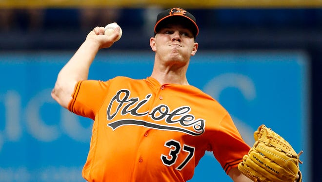 Dylan Bundy limited the Rays to three runs in seven innings.