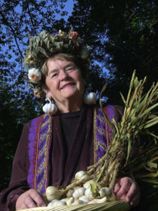 Pat Reppert, aka the Garlic Goddess, started the first garlic event with a dinner party at her home.