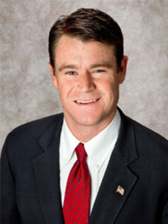 Senator Todd Young Official Portrait