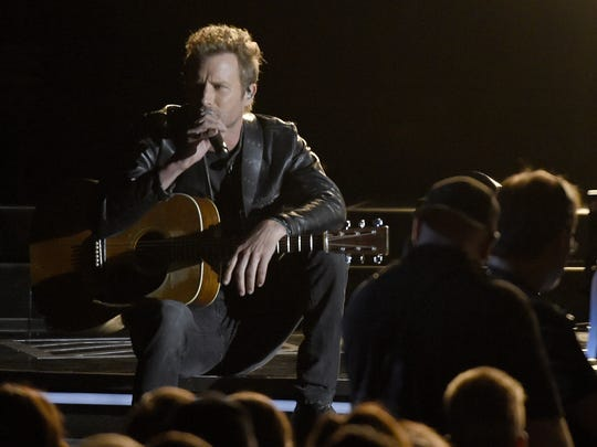 Dierks Bentley performs at the 2016 CMA Awards on Nov. 2, 2016, in Nashville.