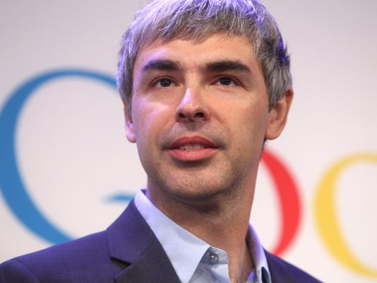 Google's CEO Larry Page