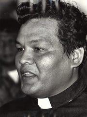 Father Raymond Techaira on Aug. 17, 1981.